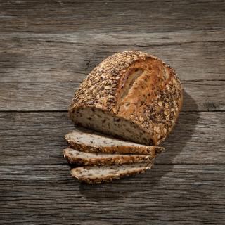 Leinsaat-Dinkel-Brot