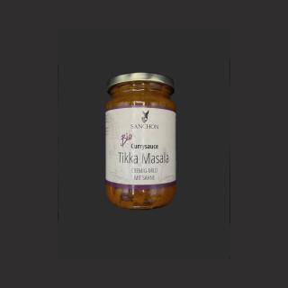Currysauce Tikka Massala - Cremig-Mild, mit Sahne