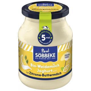 Joghurt Zitrone Typ Buttermilch 3,8%
