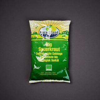 Sauerkraut, Folienbeutel
