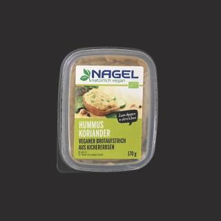 Sandwich-Creme Hummus Koriander