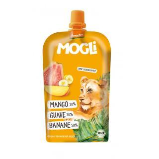 Mogli Quetschi Banane, Guave, Mango, Demeter