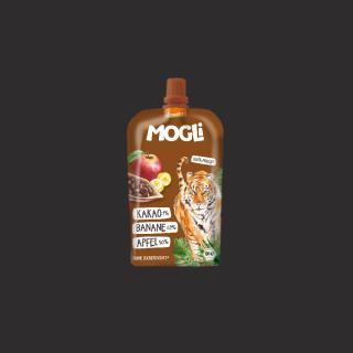 Mogli Quetschi Apfel, Banane, Kakao, Demeter