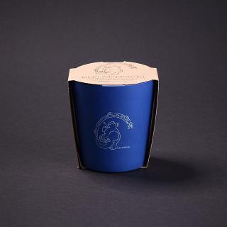 Kinder Zahnputzbecher Elefant (blau)