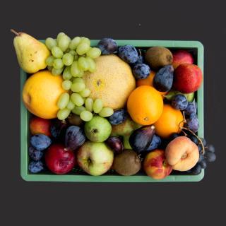 Obst Biokiste mittel