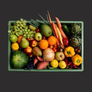 Obst&Gemüse Biokiste riesig